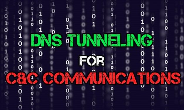 How DNS Tunneling Works as C&C Communication Channel for Botnet